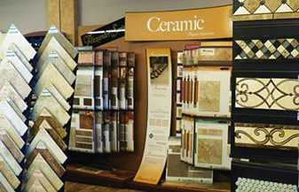 Come see the largest showroom in the Roswell area at George's Carpet & Tile